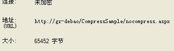 针对ASP.NET页面实时进行GZIP压缩优化的几款压缩模块的使用简介及应用测试!(附源码)